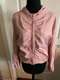 Pink Forever Brand 21 Jacket Hoodie Women's Size Large