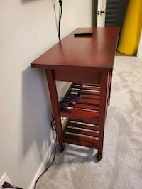 Buffet Table with Rollers
