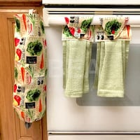 Kitchen set - vegetables with green towels Tampa, 33612