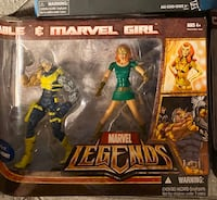Marvel legends marvel girl and cable