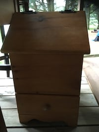 brown wooden 2-drawer nightstand Kawartha Lakes