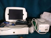 white Nintendo Wii console with controller New Port Richey, 34653