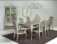 NEW DINING SET ORSINA COLLECTION 7 PCS!!!