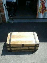 Barrel SHACK wooden trunk new never used
