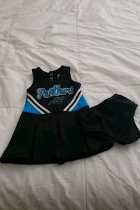 Baby Cheerleader Outfit 12M