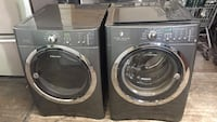 grey clothes washer and dryer set Passaic, 07055