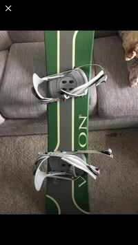 Vision snowboard with bindings Shelley, 83274