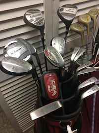 men's and women's irons plus hybrids all for one money Griffith, 46319