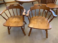 Set of 6 Early American Style Dining Chairs LUTHERVILLETIMONIUM