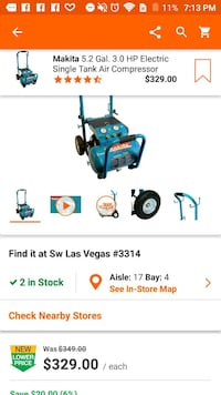 blue and black Makita power tool screenshot Las Vegas, 89135