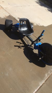 black and blue drift trike Gilbert, 85142