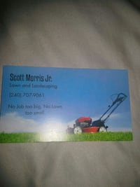 Lawn mowing Hagerstown