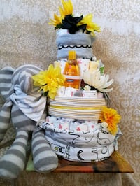 "4 tier diaper cake ""too much fun"" Edmonton, T5A 0V6"