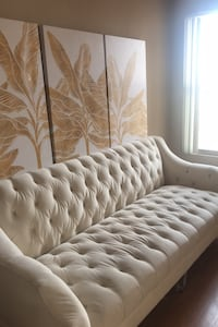 White material Couch & arm chair  Las Vegas, 89145