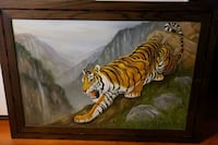 Tiger painting  Dickerson, 20842