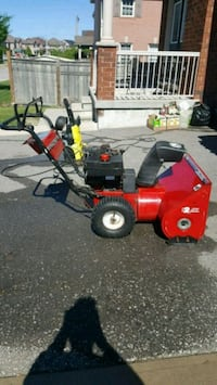 Snow blower. Sold as is