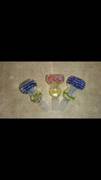 Bowls for water pipe 14mm and 19mm