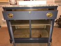 Side Board Cabinet,great for extra storage or a Dry Bar - Granite Top Madison, 07940