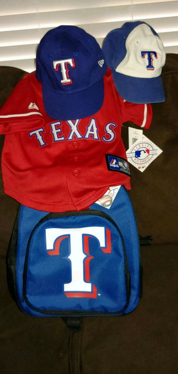 new product f2b7c cc63d Texas Rangers gear toddler