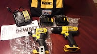 New DeWalt 1/2-in Cordless Drill /Impact Driver Kit 20V Lithium-Ion Suwanee