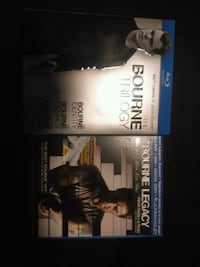 Bourne Trilogy and Bourne Legacy Blu-Ray cases Surrey, V3S