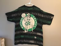 "Boston Celtics 1990's NBA ""All Over"" Design NBA T-Shirt"