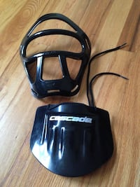 Cascade neck guard and face pad guard attachment Greer, 29651