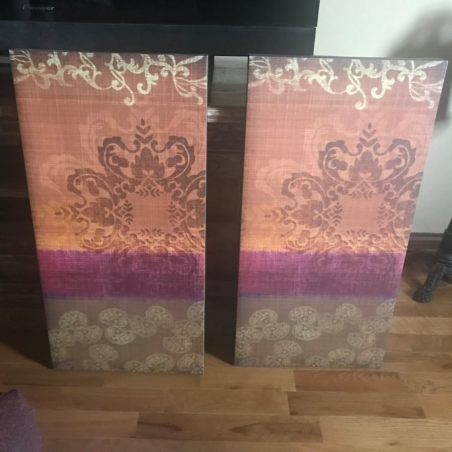Artwork - pair of gorgeous prints. Hang separate or together!