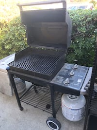 Weber silver gas grill works great Santa Clara, 95051