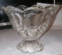 """Cut glass """"moon and stars"""" candy dish Price, 84501"""