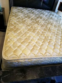 quilted white and pink floral mattress Wheaton-Glenmont