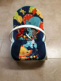baby's blue and red bouncer Brampton, L6S 3K1