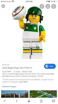 Rugby player King, L7B 1C6