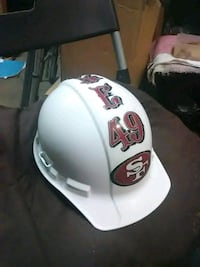 3M HARDHAT SF 49ERS FOOTBALL TEAM HARD HAT Peoria, 85381