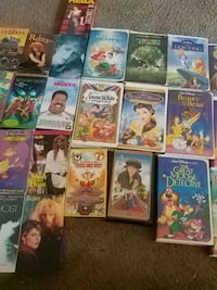 Classic Disney VHS and more Pacific, 98047