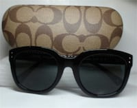 NEW Coach 8047/L035 New York Casey Black Sunglasses Toronto