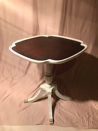 Restored 1940's Era Piecrust Table Newington, 06111