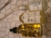 Lavender oil,  belly oil and firm face serum 540 km