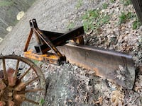 Three point rear blade.   Tractor