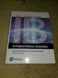 International Business Environments & Operations  Vancouver, V6E 3X2