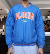 Florida Gators Vintage Pro Edge Windbreaker New with Tags  Newmarket