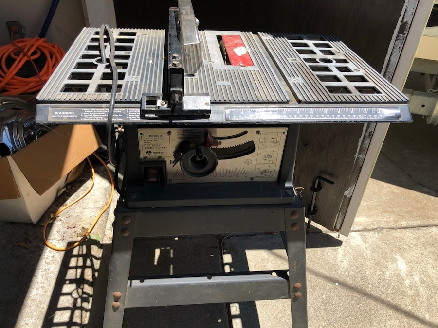 used black and gray table saw for sale in antioch letgo rh gb letgo com