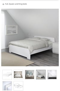 Double size ikea bed& mattress Montréal, H3G 0C8