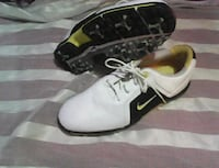 pair of white-and-black Nike Cleats  Calgary, T2A 0L9