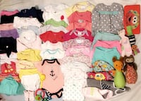 Bundle of baby clothes & more!