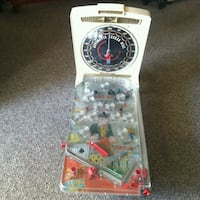 Vintage Marx Pinball Machine Erie, 16508