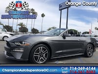 2019 Ford Mustang EcoBoost Premium Convertible Huntington Beach