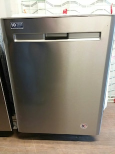 #1683 brand new Maytag stainless steel dishwasher
