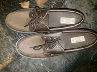 pair of brown leather boat shoes Milwaukee, 53206