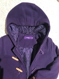Mexx purple coat ( girl size 10) Richmond Hill